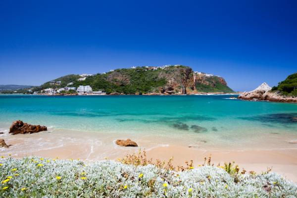 plage de knysna et ses eaux turquoises