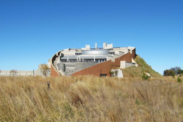 Le musée Moaropeng du berceau de l'humanité à Johannesburg