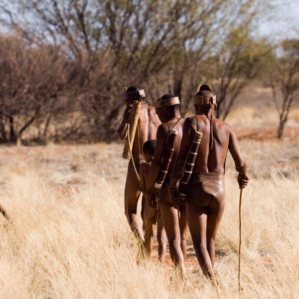 Rencontre avec le peuple san et sa culture