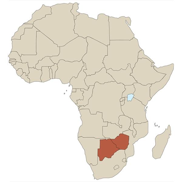 Botswana et Zimbabwe