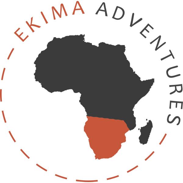 le logo Ekima aventure pour les séjours randonnée en Afrique du sud