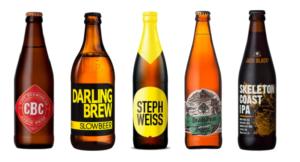 Sélection de bières issues de micro-brasseries locales