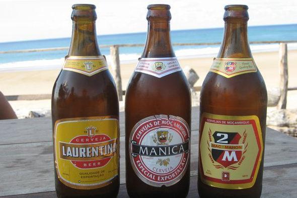Quelques exemples de bières artisanales et locales du Mozambique