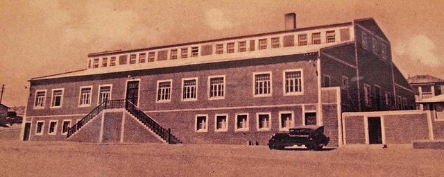 Bâtiment du casino de la ville de Kolmanskop d'antan