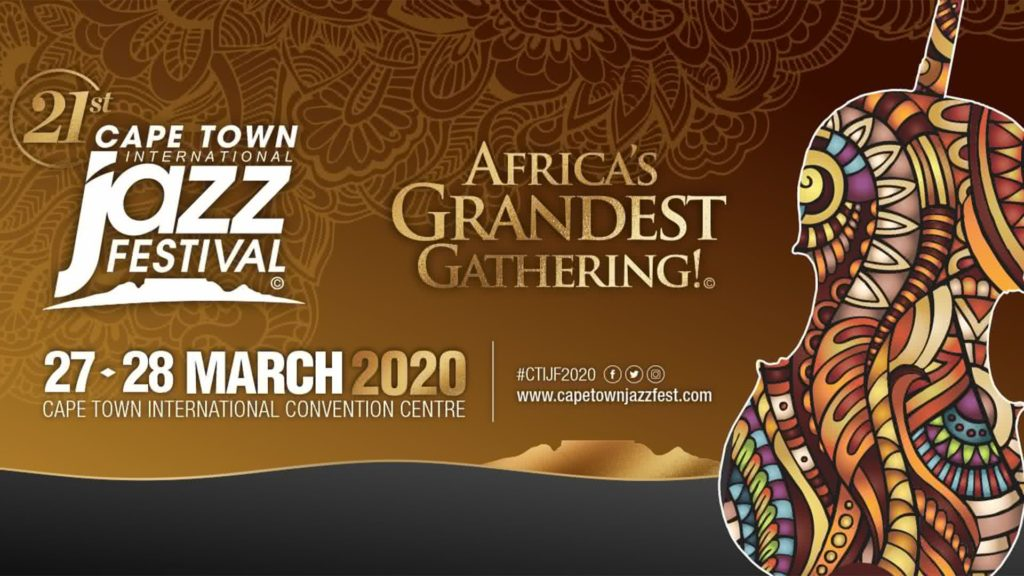 Affiche officielle de l'édition 2020 du festival international de jazz