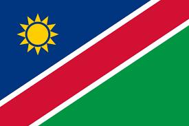 Le drapeau de Namibie