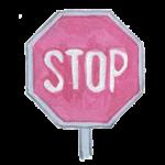 Icône dessin panneau de signalisation stop